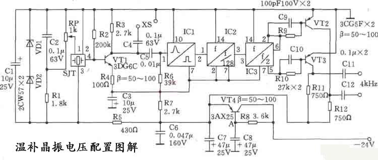 温补晶振(Temperature Compensated Crystal Oscillators)简称TCXO;TCXO晶体振荡器,通常广泛用于PCS基站、网络传输、雷达、测试设备、锁相环电路SDH、、电子对抗、通讯、移动通信、蜂窝基站、数字程控交换机、光传输、WLL、导航无线通信、航天、航空、频率合成器、ATM、接入网、SONET等等高端电子产品.